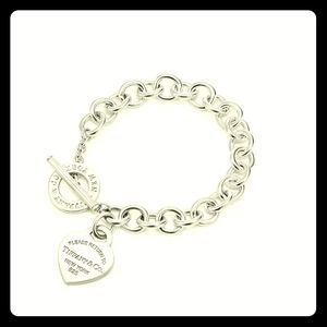 Tiffany&Co. Heart Tag Toggle Bracelet